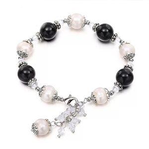 Natural Pearl Bracelet Stone Wedding Birthday Gift